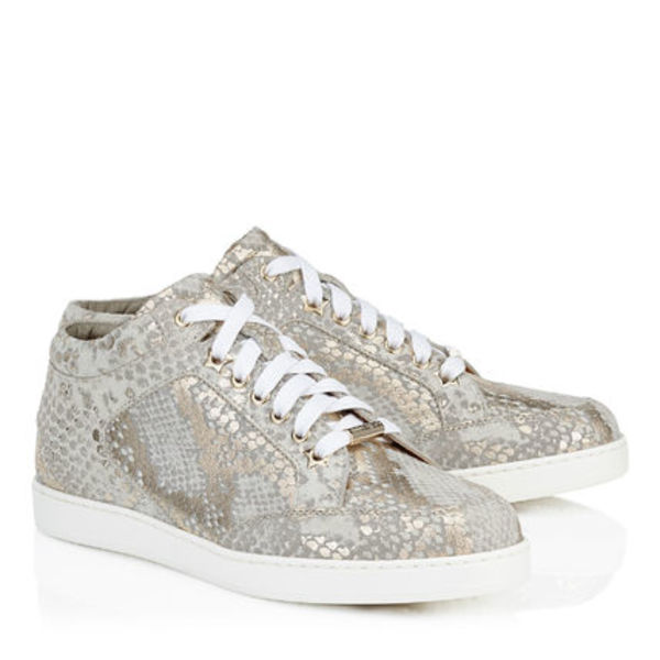 ヨーロッパ限定モデル Jimmy Choo MIAMI Low-Top-Sneaker