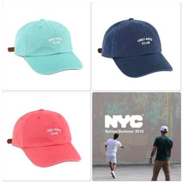 大人気シリーズ☆ ONLY NY -Arts Club Polo Hat 3色