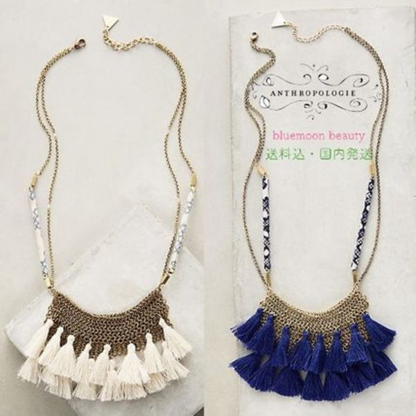 関税・送料込★Anthropologie Camilla Bib Necklace