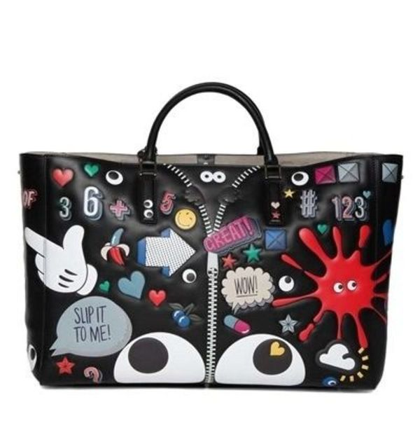 16SS ANYA HINDMARCH スマイリー WINK STICKERS CIRCUS