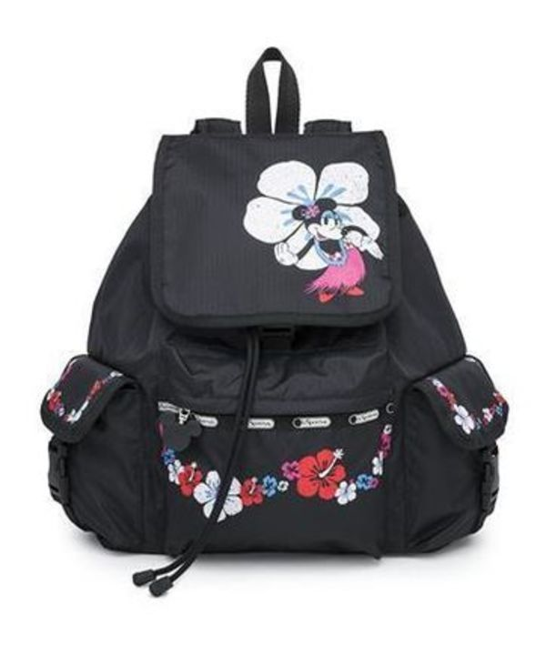 LeSportsac X ディズニー Voyager Backpack Hula Hibiscus