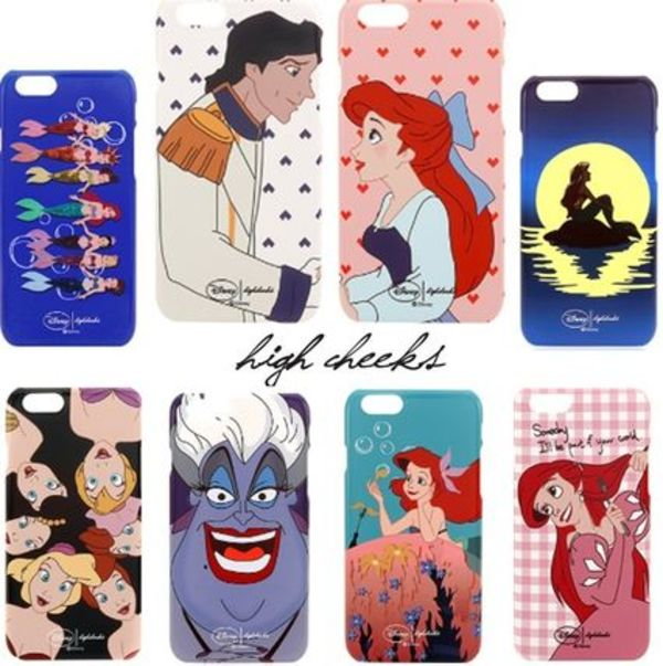 話題!日本未入荷◆Ariel × HIGH CHEEKS iPhone6/6s+/Galaxy11種