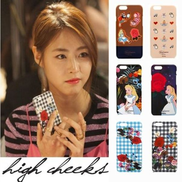 ☆DISNEY x HIGH CHEEKS ケース ☆iPhone 6/6S /日本未入荷