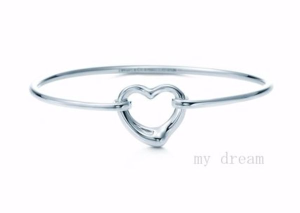 日本未入荷【Tiffany & Co】ELSA PERETTI OPEN HEART BANGLE