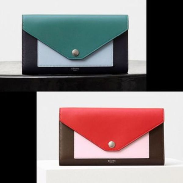 ★16AW NEW★【CELINE】POCKET TRIFOLDED WALLET (関税込!)