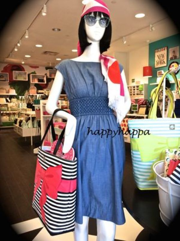 【kate spade】楽~な着心地♪chambray blaire dress☆
