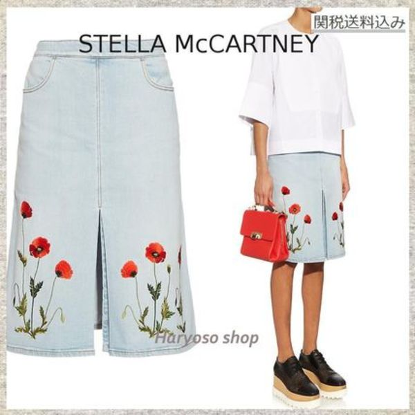 関税込VIP価格★Stella McCartney★Janelle denim skirt