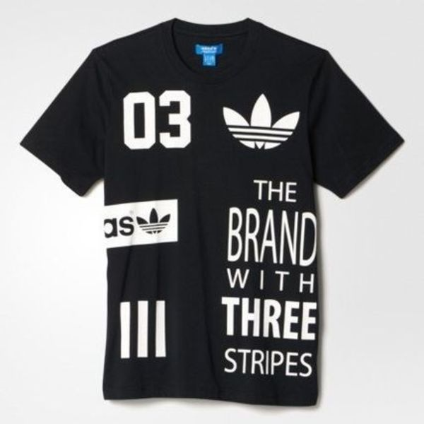 ★adidas originals★OFF POSITION LOGO TEE★Tシャツ★BLACK