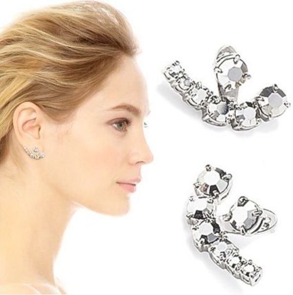 Kate Spadeケイトスペード Dainty Sparkles Crystal Ear Jackets