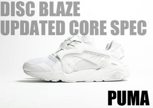 "[Puma]DISC BLAZE-UPDATED CORE SPEC ""TRIPLE WHITE""【送料込】"