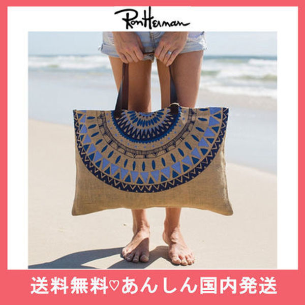 Ron Herman取扱【送料無料】thebeachpeopleジュートトートバッグ