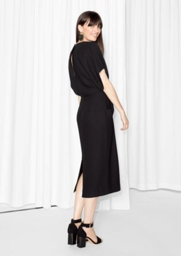 【 & Other Stories】日本未入荷 Open Back Dress