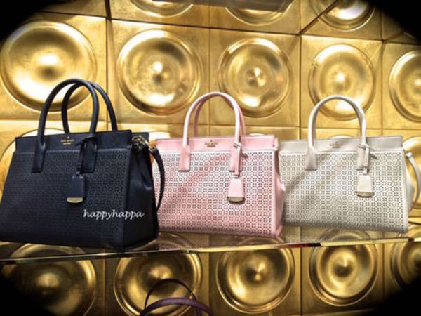 【kate spade】 カットアウトが美しい☆perforated candace☆