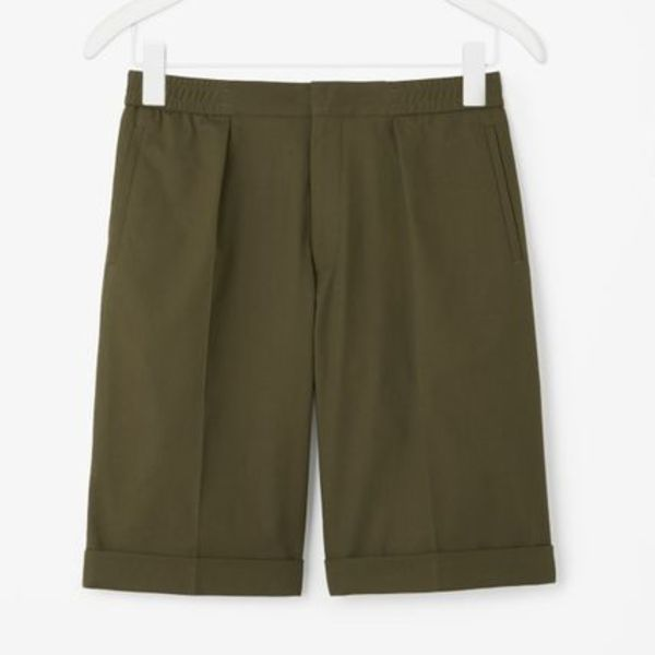 """COS MEN""OVERSIZED TURN-UP SHORTS KG"