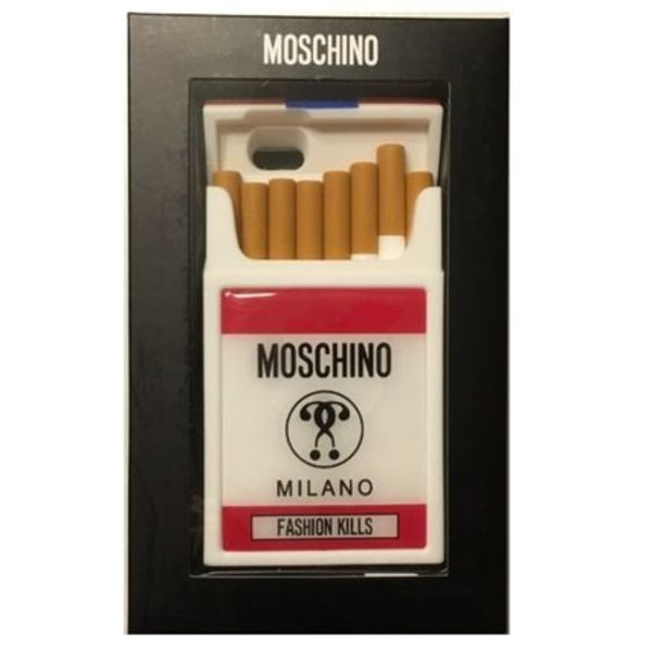 【MOSCHINO】  iphone6/S ケース 関税・送料込 たばこ 即日発送