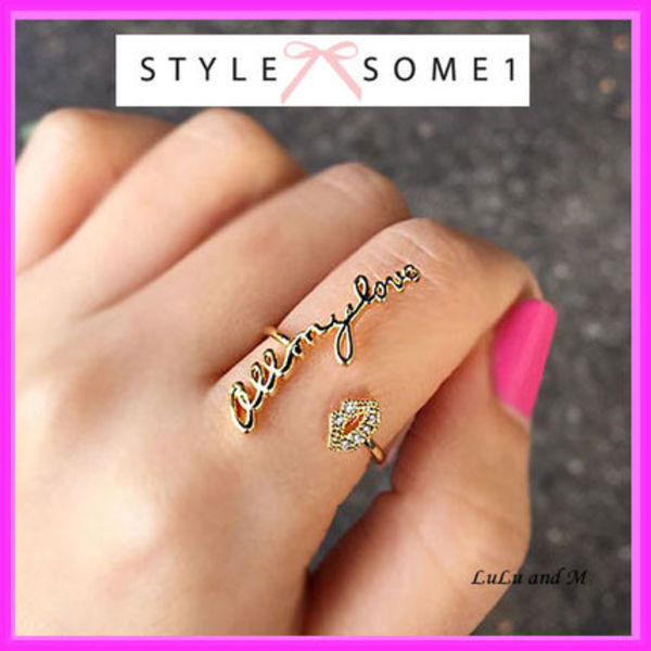 "【STYLESOME1】 スタイルサムワン  リング ""All my love"" Ring"