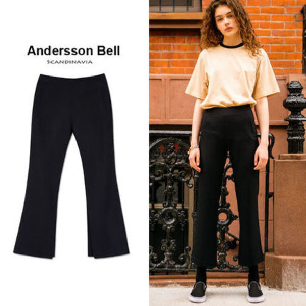 ANDERSSON BELL正規品★16SS新作★Silviaスリットパンツ