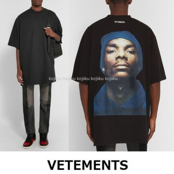 ▽国内発送・関税込▽VETEMENTS▽Oversized SnoopPrint T-Shirt