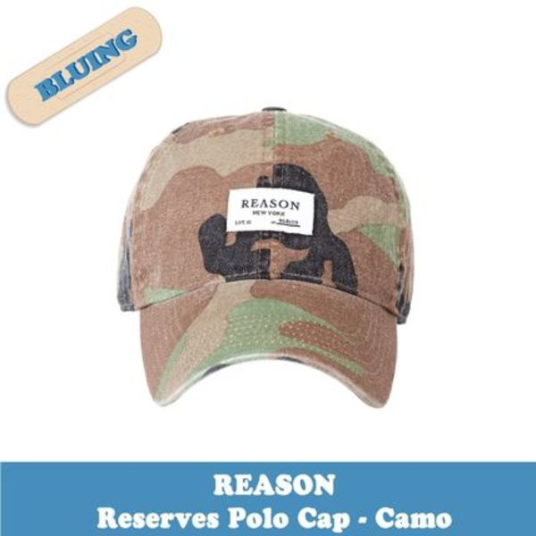 ▼レディース【REASON(リーズン)】Reserves Polo Cap - Camo