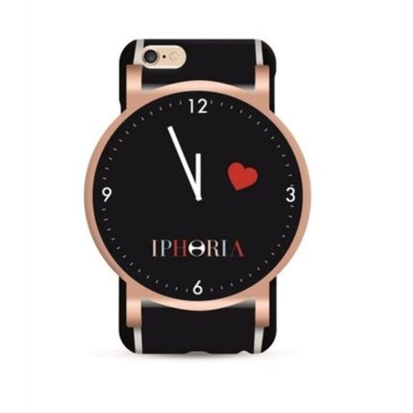 ☆IPHORIA(アイフォリア) iphoneケース6.6s★WATCH THE TIME