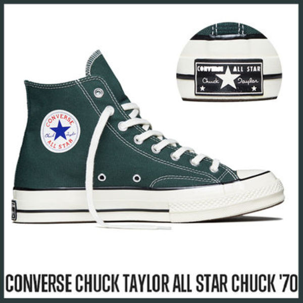 CONVERSE Chuck Taylor All Star 70 HI 153877C Deep Green
