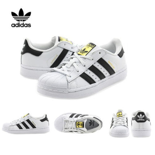 adidas(アディダス) Kids 正規品 SUPERSTAR FOUNDATION C