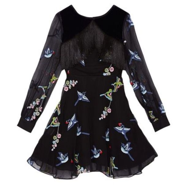 SRETSIS FEATHER BIRD DRESS入手困難!  (BLACK/US4)