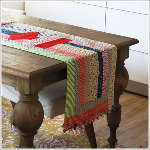 Quilted Table Runner キルトテーブルランナー