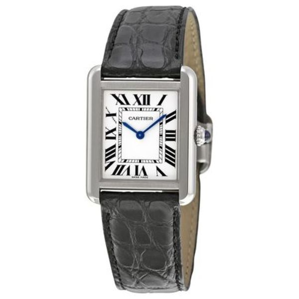 Cartier(カルティエ)  Tank Solo Steel Small Ladies Watch