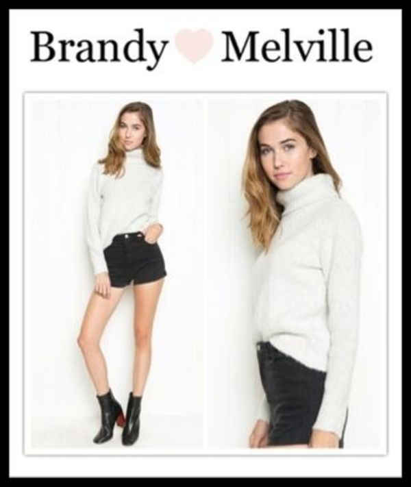 ☆新作*日本未入荷☆Brandy Melville*CASSIA TURTLENECK SWEATER