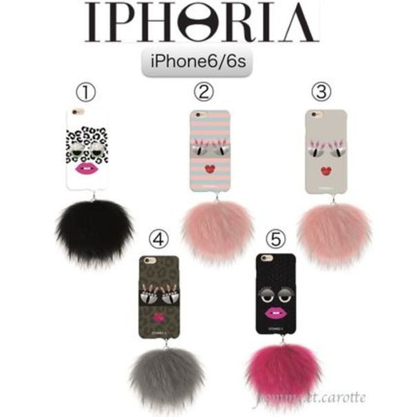 【ベルリン発】2016SS☆IPHORIA☆iPhone6/6s MONSTER&ファー