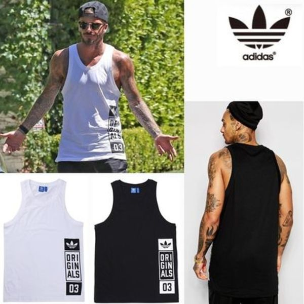 ☆adidas(アディダス)☆STREET GRAPHIC TANK TOP-AJ7713 /AJ7715