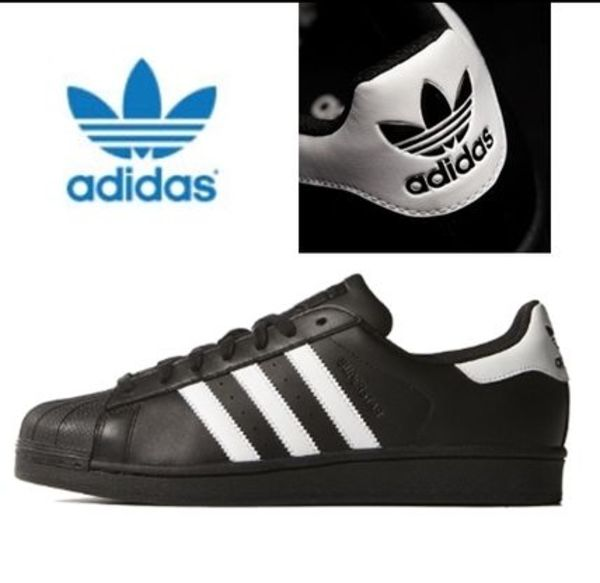 ★adidas.正規品 SUPERSTAR FOUNDATION-Black/White-特価★