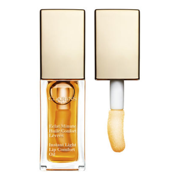 CLARINS リップオイル Eclat Minute Huile Confort Levres HONEY