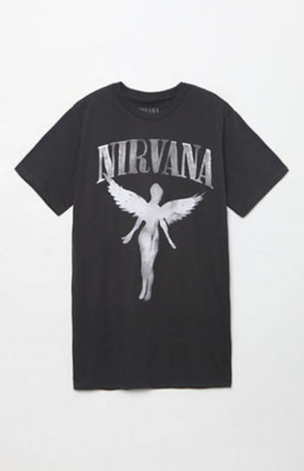 追尾/関税込み!! BRAVADO Nirvana In Utero T-Shirt バンド Tee