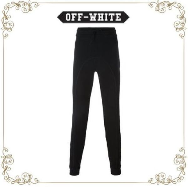 【16AW新作】★ Off-White ★rear print track pants