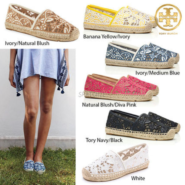 Lucia Lace Espadrilleエスパドリーユ