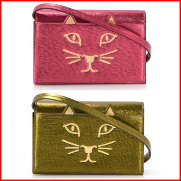 SALE★16SS【Charlotte Olympia】Kitty ショルダーバッグ2カラー