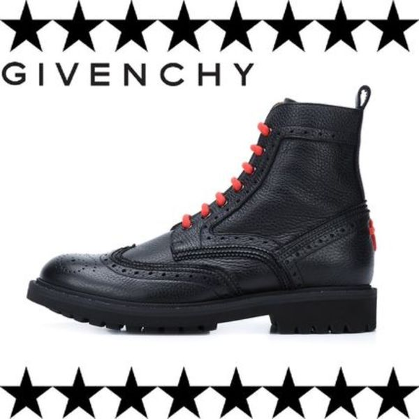 GIVENCHY(ジバンシィ)ankle boots ウィングチップアンクルブーツ