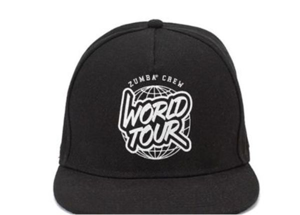 新作♪ZumbaズンバWorld Tour Snapback Hat