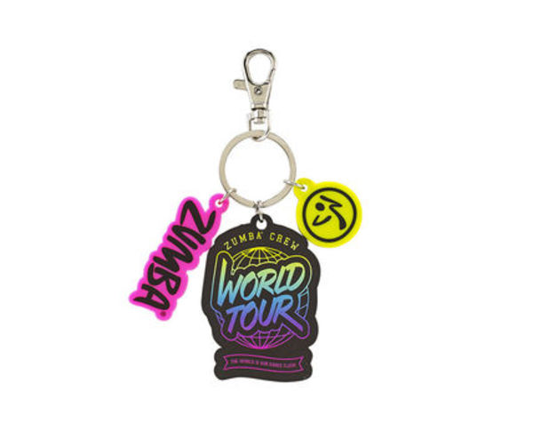 新作♪ZumbaズンバZumba World Tour Keychain