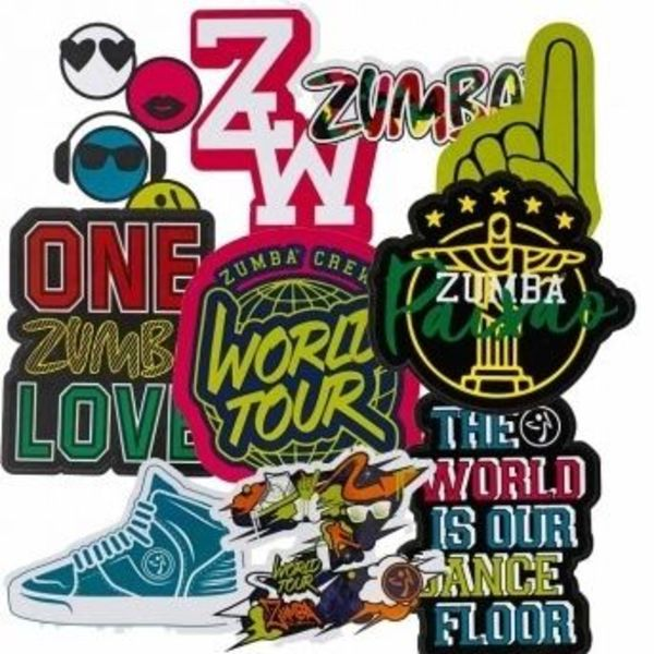 ★国内在庫★ 【ズンバ】 Zumba Crew Bag Of Stickers