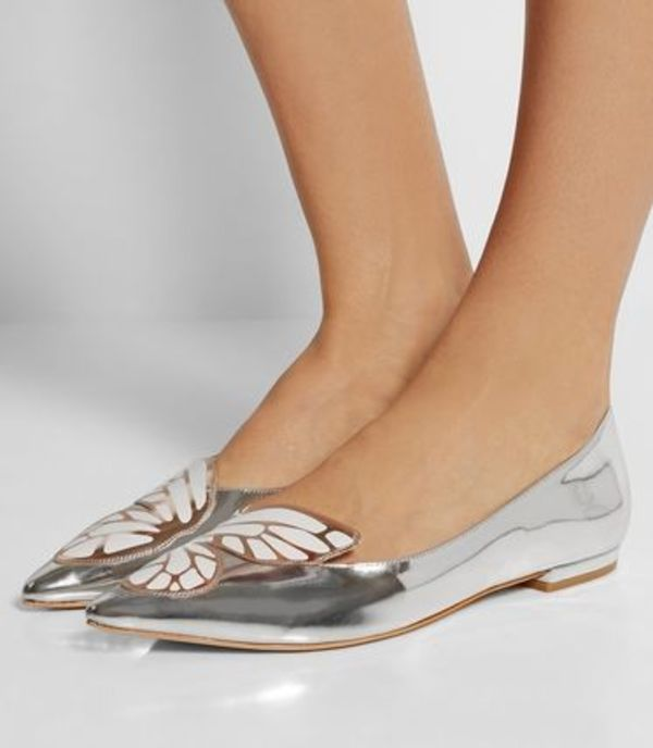 国内発 | SOPHIA WEBSTER ♥ Bibi Butterfly metalic flat