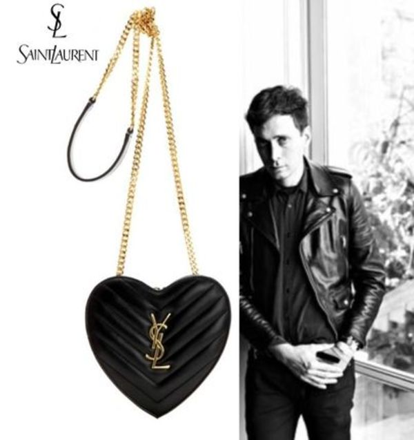 【国内発送】Saint Laurent◆16AW◆LOVE Heart shoulder bag