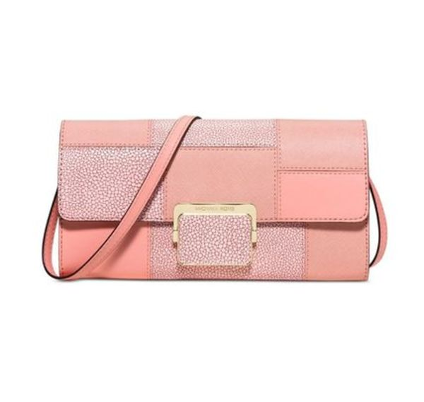 Sale!【Michael Kors】Cynthia Large Clutchバッグ(Pale Pink)
