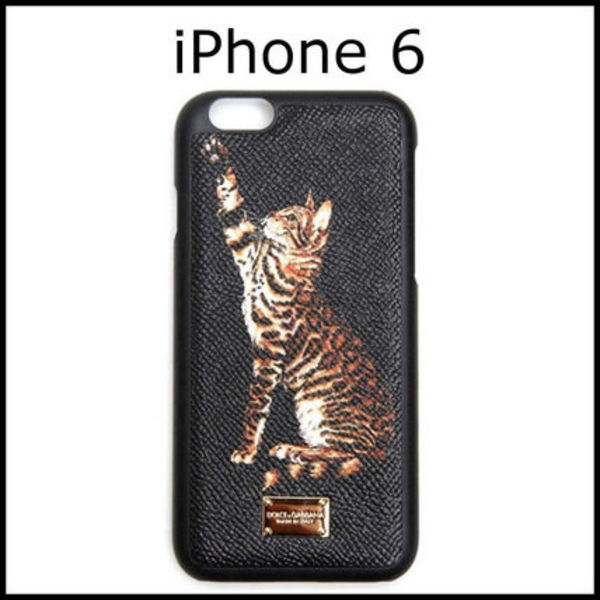 Dolce & Gabbana☆DAUPHINE CATS PRINTED IPHONE6・6s ケース
