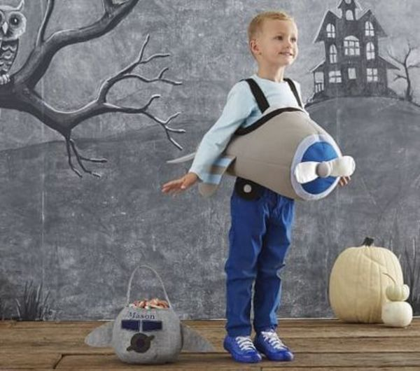 【Pottery Barn】ハロウィーンに♪ Airplane Costume 飛行機