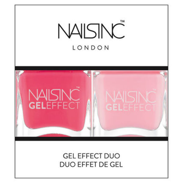Nails Inc GEL EFFECT DUO ジェルエフェクトポリッシュ2色セット