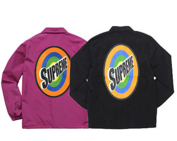 SUPREME16SS★Spin Coaches Jacketコーチジャケット