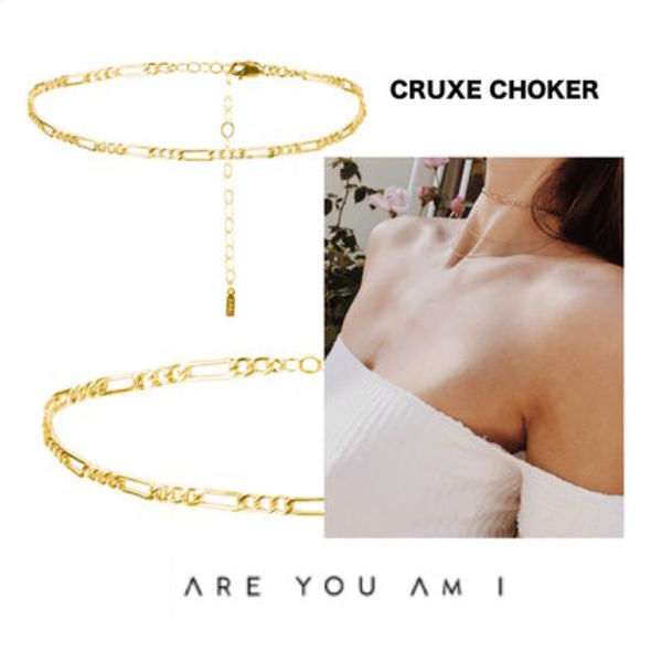 新作*モデル愛用中*ARE YOU AM I*CRUXE CHOKER